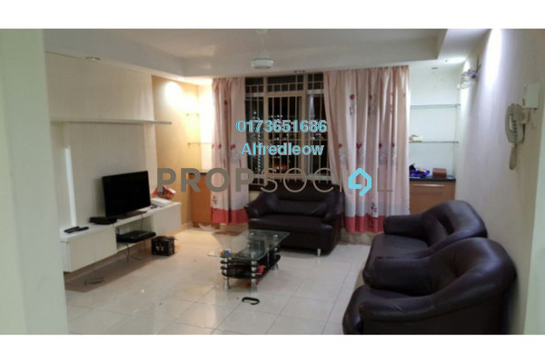 For Rent Condominium at Casa Prima, Kepong Freehold Semi Furnished 3R/2B 1.2k