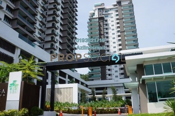 For Sale Condominium at Rimba Residence, Bandar Kinrara Freehold Semi Furnished 3R/2B 680k