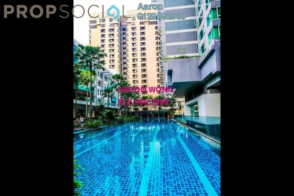 For Rent Condominium at Verticas Residensi, Bukit Ceylon Freehold Fully Furnished 2R/2B 5k