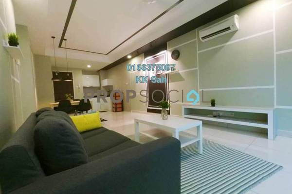 For Rent Condominium at Central Residence, Sungai Besi Freehold Fully Furnished 2R/2B 2.2k