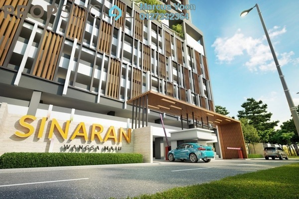 For Sale Condominium at Sinaran @ Wangsa Maju, Wangsa Maju Freehold Semi Furnished 2R/2B 435k