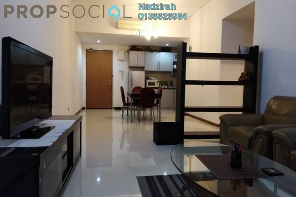 For Rent Condominium at Suasana Sentral Loft, KL Sentral Freehold Fully Furnished 2R/2B 3.9k