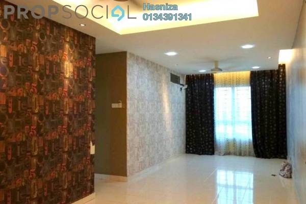 For Rent Condominium at Banjaria Court, Batu Caves Freehold Semi Furnished 3R/2B 1.6k