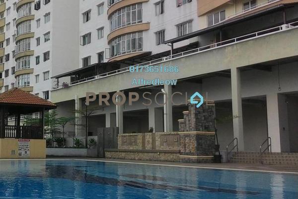 For Rent Condominium at Putra Majestik, Sentul Freehold Semi Furnished 3R/2B 1.2k