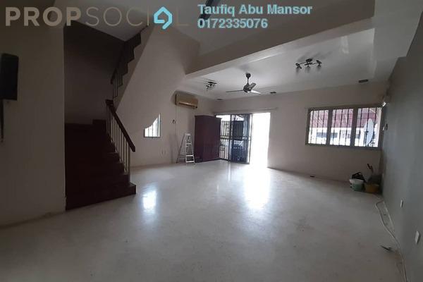 For Sale Terrace at Taman Cahaya, Ampang Leasehold Semi Furnished 4R/3B 769k