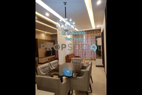 For Rent Serviced Residence at Dorsett Residences, Bukit Bintang Freehold Fully Furnished 2R/2B 5k