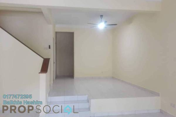 For Rent Terrace at Alam Budiman, Shah Alam Freehold Semi Furnished 4R/4B 1.3k