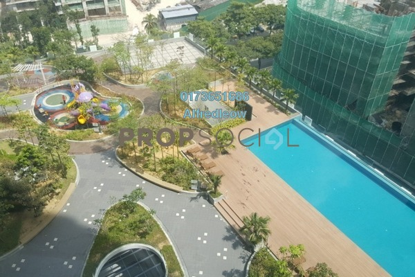 For Sale Condominium at Mercury Serviced Apartment @ Sentul Village, Sentul Freehold Semi Furnished 3R/2B 515k