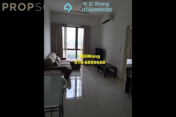 For Rent Serviced Residence at Tropicana City Tropics, Petaling Jaya Freehold Fully Furnished 2R/2B 1.8k
