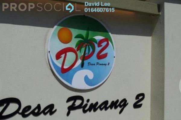 For Sale Apartment at Desa Pinang 2, Jelutong Freehold Unfurnished 3R/2B 250k