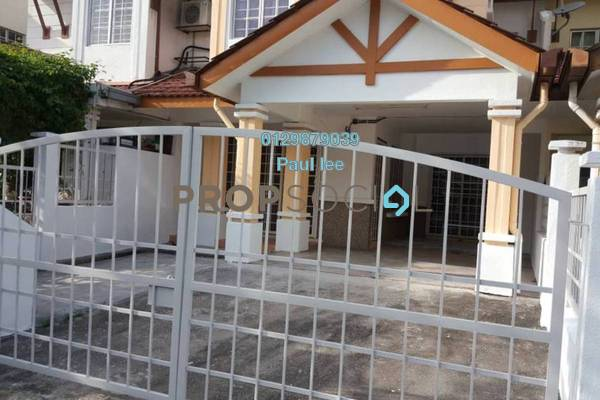 For Rent Terrace at BP11, Bandar Bukit Puchong Freehold Semi Furnished 4R/3B 1.3k