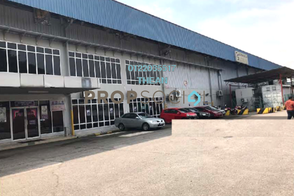 For Rent Factory at Section 16, Shah Alam Freehold Unfurnished 0R/0B 135k