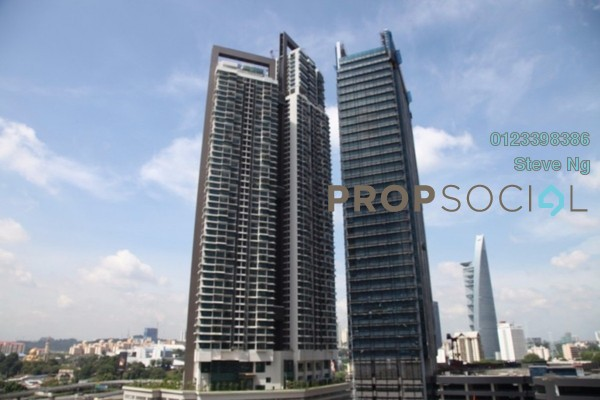 For Rent Condominium at Vogue Suites One @ KL Eco City, Mid Valley City Freehold Unfurnished 2R/2B 5.5k