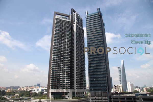 For Rent Condominium at Vogue Suites One @ KL Eco City, Mid Valley City Freehold Unfurnished 2R/2B 4.8k