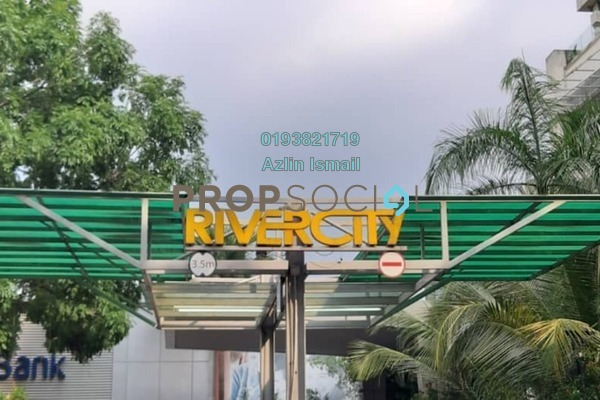 For Sale Condominium at Rivercity, Sentul Freehold Semi Furnished 4R/2B 750k