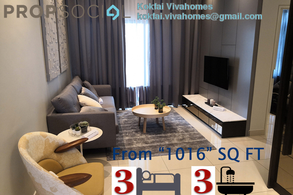 For Sale Condominium at D'Seven Lagoon Perdana, Bandar Sunway Freehold Unfurnished 3R/3B 500k
