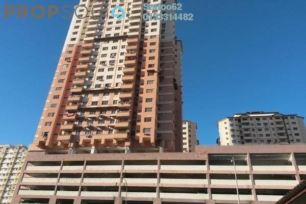 For Sale Condominium at Idaman Sutera, Setapak Freehold Semi Furnished 3R/2B 248k