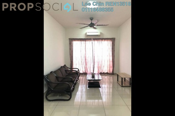 For Sale Serviced Residence at Connaught Avenue, Cheras Freehold Semi Furnished 3R/2B 390k