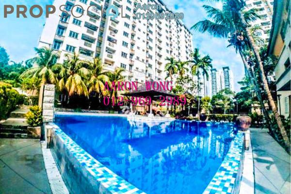 For Sale Apartment at Villa Pavilion, Seri Kembangan Freehold Semi Furnished 3R/2B 390k