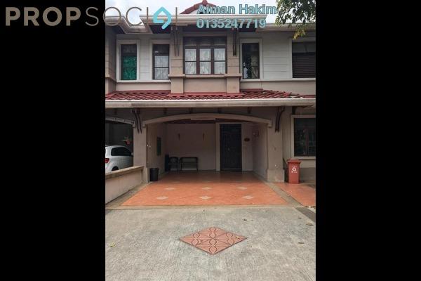 For Rent Semi-Detached at Precinct 14, Putrajaya Freehold Fully Furnished 5R/5B 2.8k