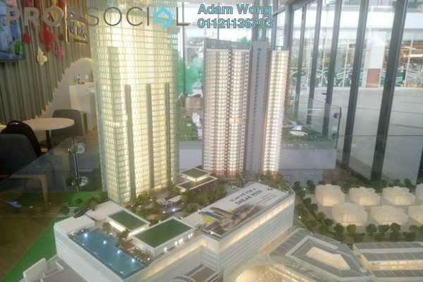 For Sale Serviced Residence at Sunsuria Forum, Setia Alam Freehold Unfurnished 3R/2B 480k