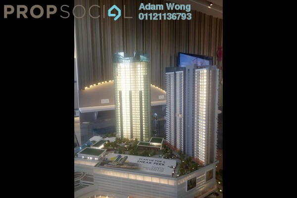 For Sale Serviced Residence at Sunsuria Forum, Setia Alam Freehold Unfurnished 4R/2B 650k