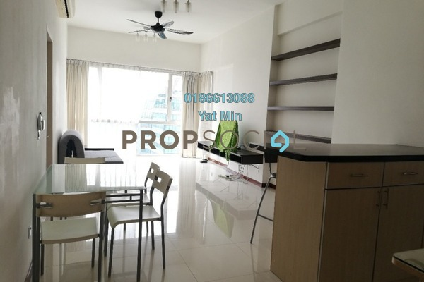For Rent Condominium at Suasana Sentral Loft, KL Sentral Freehold Fully Furnished 1R/2B 3.6k