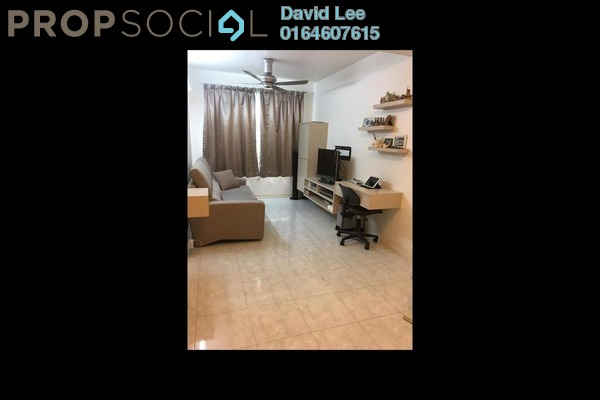 For Sale Apartment at Taman Kheng Tian, Jelutong Freehold Fully Furnished 3R/2B 376k