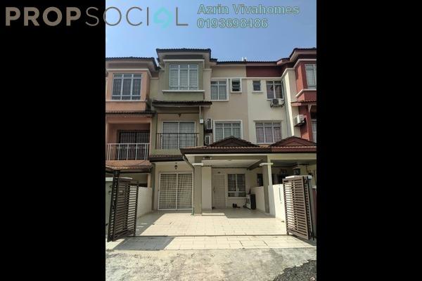 For Rent Terrace at Taman Puncak Jalil, Bandar Putra Permai Freehold Fully Furnished 4R/2B 2.5k