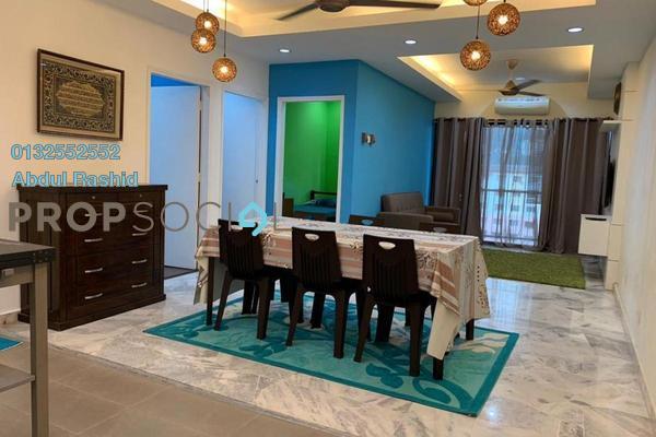 For Rent Apartment at Taman Kosas, Ampang Freehold Fully Furnished 3R/2B 1.65k