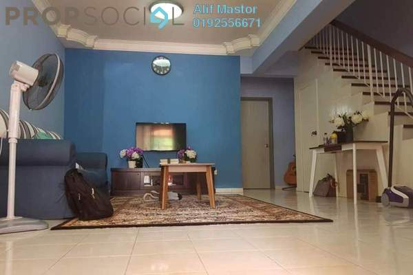 For Sale Terrace at Taman Taming Impian, Kajang Freehold Semi Furnished 5R/3B 470k