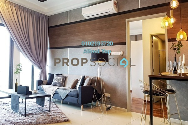 For Rent Serviced Residence at PJ Midtown, Petaling Jaya Freehold Fully Furnished 1R/1B 2.3k