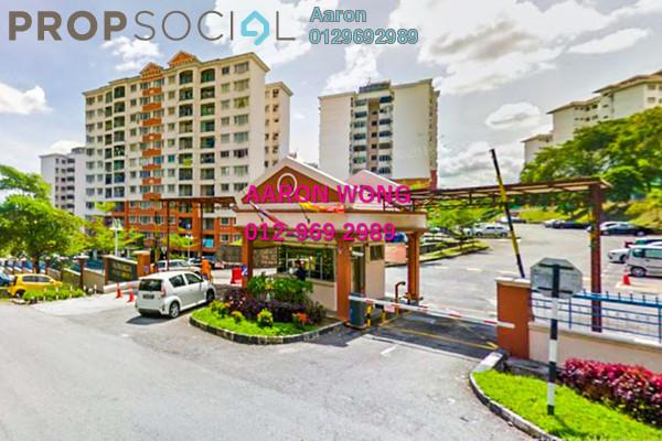 For Sale Apartment at Kenanga Apartment, Pusat Bandar Puchong Freehold Fully Furnished 3R/2B 375k