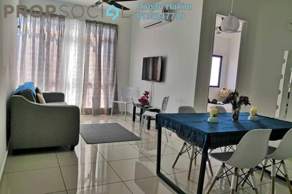 For Rent Serviced Residence at Kenwingston Square Garden, Cyberjaya Freehold Fully Furnished 2R/1B 1.4k