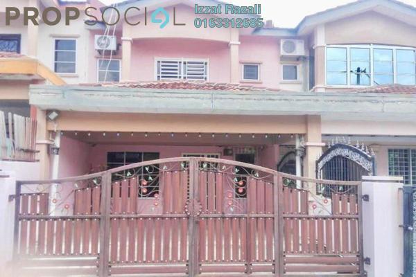 For Sale Terrace at Taman Matahari Indah, Senawang Freehold Semi Furnished 4R/3B 320k