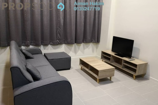 For Rent Condominium at Tamarind Suites, Cyberjaya Freehold Fully Furnished 0R/0B 1.25k