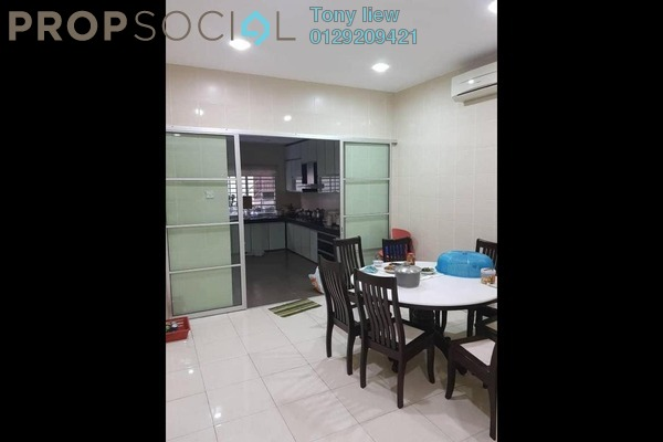 For Sale Terrace at Alam Sanctuary, Bandar Putra Permai Freehold Semi Furnished 5R/3B 850k