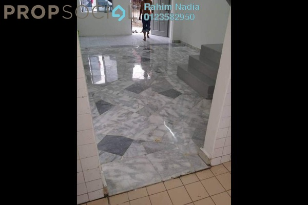 For Sale Terrace at Taman Sri Muda, Shah Alam Freehold Semi Furnished 2R/2B 388k