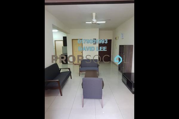 For Rent Condominium at Pelangi Astana, Bandar Utama Freehold Fully Furnished 3R/2B 1.6k