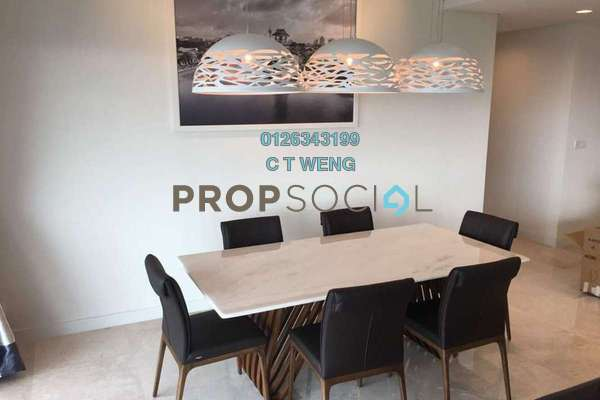 For Rent Condominium at The Sentral Residences, KL Sentral Freehold Fully Furnished 4R/5B 8k