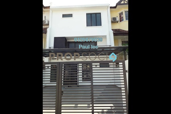 For Rent Terrace at Gasing Indah, Gasing Heights Freehold Semi Furnished 5R/3B 3.3k