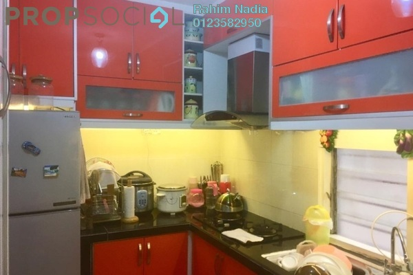 For Sale Apartment at Taman Gombak Permai, Batu Caves Freehold Fully Furnished 3R/2B 330k