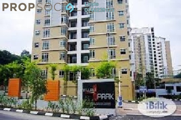 For Rent Condominium at Villa Park, Seri Kembangan Freehold Semi Furnished 3R/2B 1.2k
