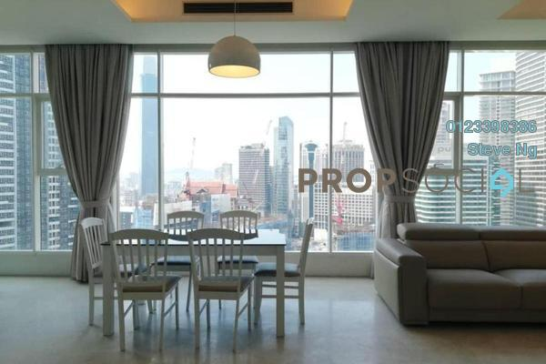 For Rent Condominium at Quadro Residences, KLCC Freehold Fully Furnished 0R/0B 7.5k