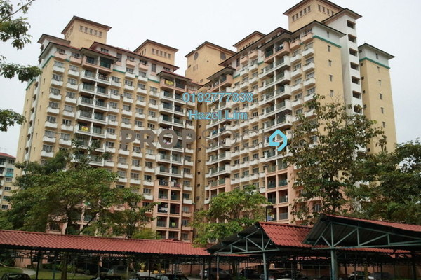 For Sale Apartment at Arena Green, Bukit Jalil Freehold Fully Furnished 3R/2B 370k