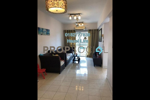 For Rent Apartment at Arena Green, Bukit Jalil Freehold Semi Furnished 3R/2B 1.4k