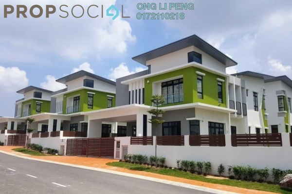 For Sale Bungalow at Casa Sutra, Setia Alam Freehold Semi Furnished 6R/6B 2.5m