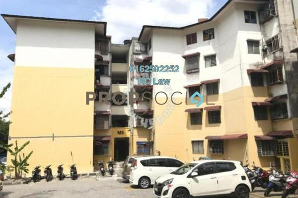 For Sale Apartment at Sri Meranti, Bandar Sri Damansara Freehold Unfurnished 0R/0B 135k