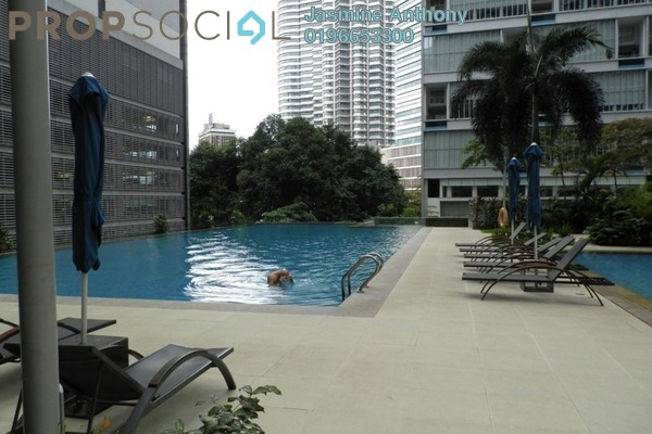 For Rent Serviced Residence at Marc Service Residence, KLCC Freehold Fully Furnished 1R/1B 2.8k
