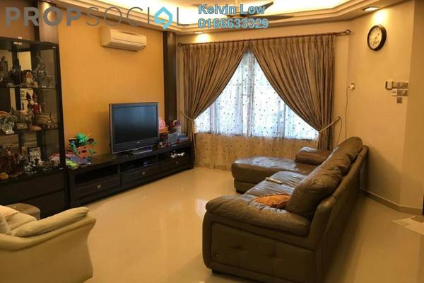 For Sale Terrace at Seri Utama, Kota Damansara Freehold Semi Furnished 4R/3B 950k